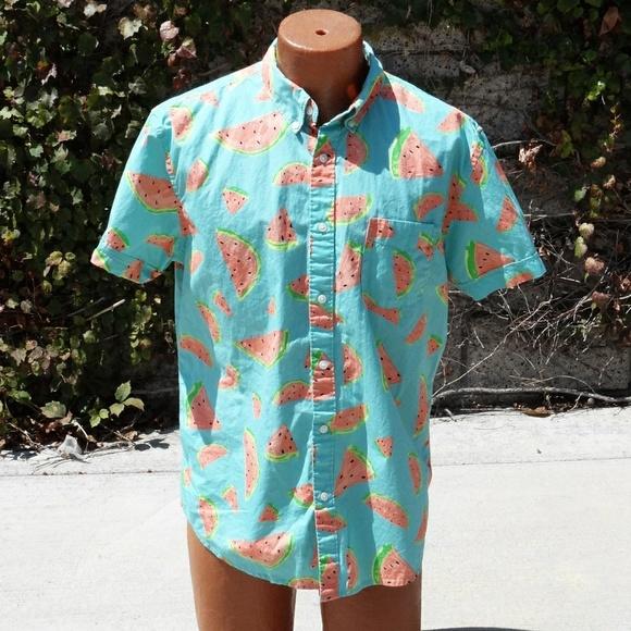 c3c38933adb Arizona Jean Company Other - Watermelon Button Down Shirt
